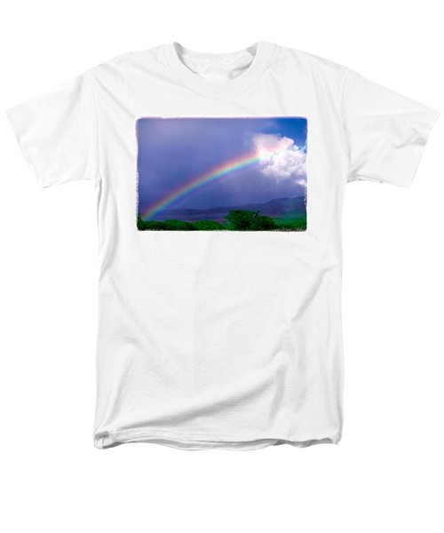Men's T-Shirt  (Regular Fit) featuring the photograph Maui Rainbow by Marie Hicks