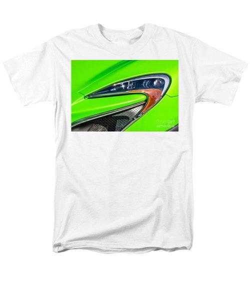 Men's T-Shirt  (Regular Fit) featuring the photograph Mclaren P1 Headlight by Aloha Art