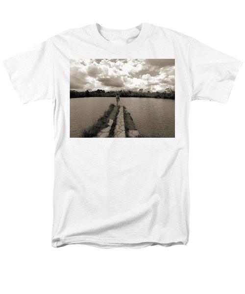 Meditation Men's T-Shirt  (Regular Fit) by Beto Machado