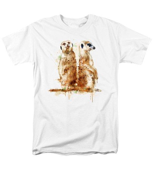 Meerkats Men's T-Shirt  (Regular Fit) by Marian Voicu