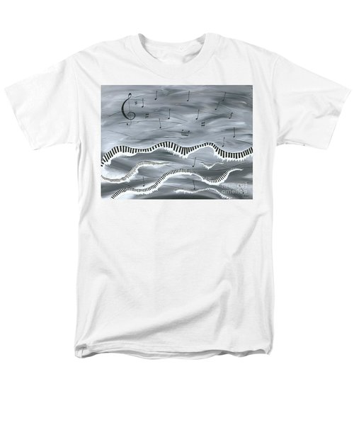Men's T-Shirt  (Regular Fit) featuring the painting Melody by Kenneth Clarke