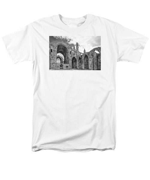 Melrose Abbey Men's T-Shirt  (Regular Fit) by Elvira Butler