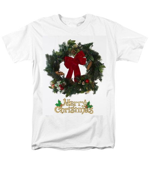 Merry Christmas Men's T-Shirt  (Regular Fit) by Kenneth Cole