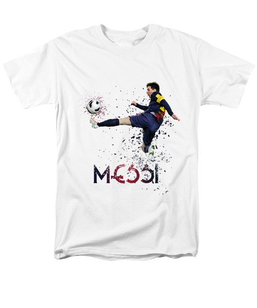 Messi Men's T-Shirt  (Regular Fit) by Armaan Sandhu
