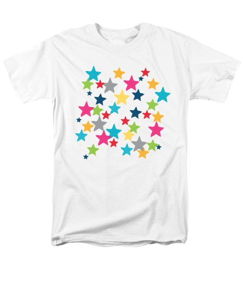 Messy Stars- Shirt Men's T-Shirt  (Regular Fit)