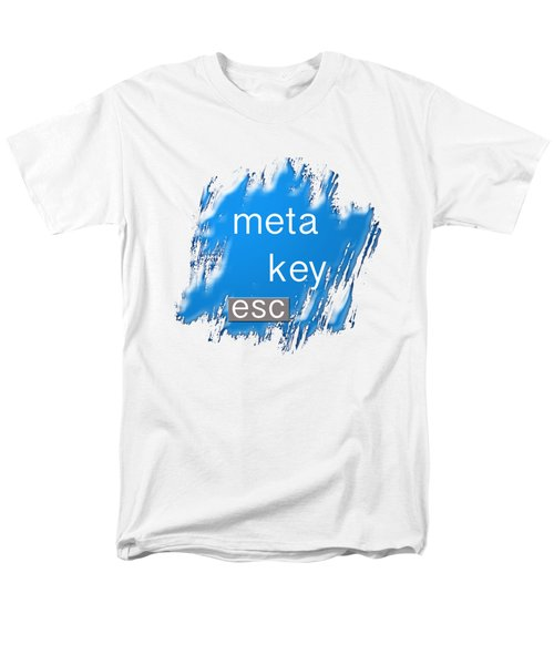 Meta Key Esc Men's T-Shirt  (Regular Fit) by Bill Owen