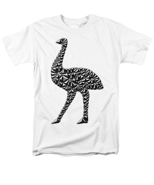 Metallic Emu Men's T-Shirt  (Regular Fit) by Chris Butler