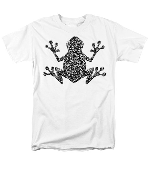 Metallic Frog Men's T-Shirt  (Regular Fit) by Chris Butler