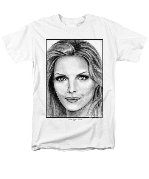 Michelle Pfeiffer In 2010 Men's T-Shirt  (Regular Fit) by J McCombie