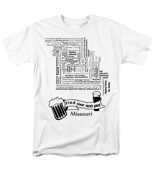 Micro Brew Missouri Men's T-Shirt  (Regular Fit) by Ryan Burton