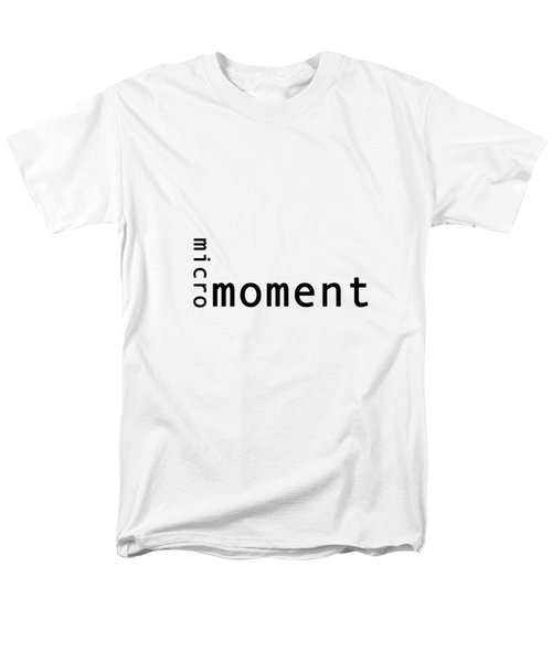 Micro Moment Men's T-Shirt  (Regular Fit) by Bill Owen