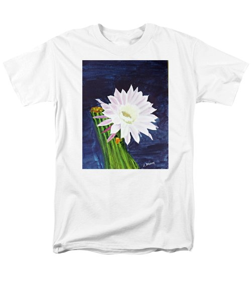 Midnight Blossom Men's T-Shirt  (Regular Fit) by Jack G  Brauer