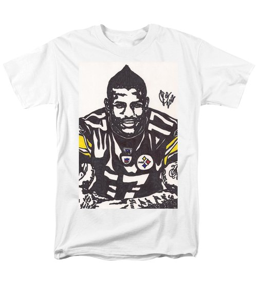 Men's T-Shirt  (Regular Fit) featuring the drawing Mike Wallace 1 by Jeremiah Colley