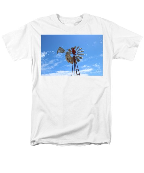 Men's T-Shirt  (Regular Fit) featuring the photograph Milled Wind by Stephen Mitchell