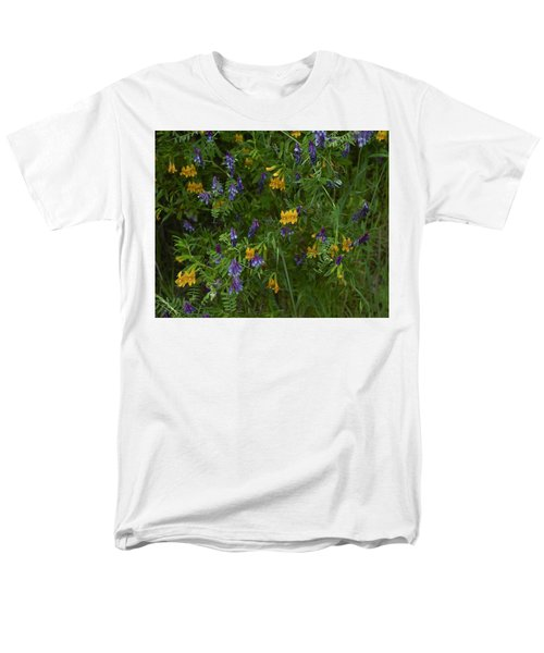 Mimulus And Vetch Men's T-Shirt  (Regular Fit) by Doug Herr