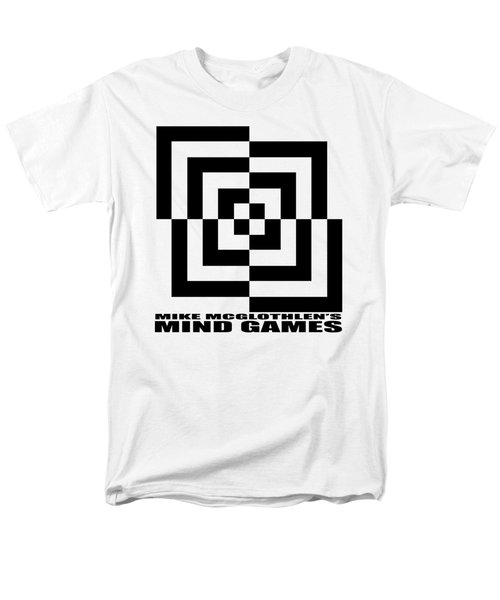 Men's T-Shirt  (Regular Fit) featuring the drawing Mind Games 10se by Mike McGlothlen