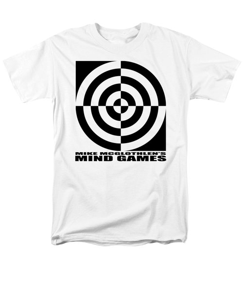 Men's T-Shirt  (Regular Fit) featuring the drawing Mind Games 1se by Mike McGlothlen
