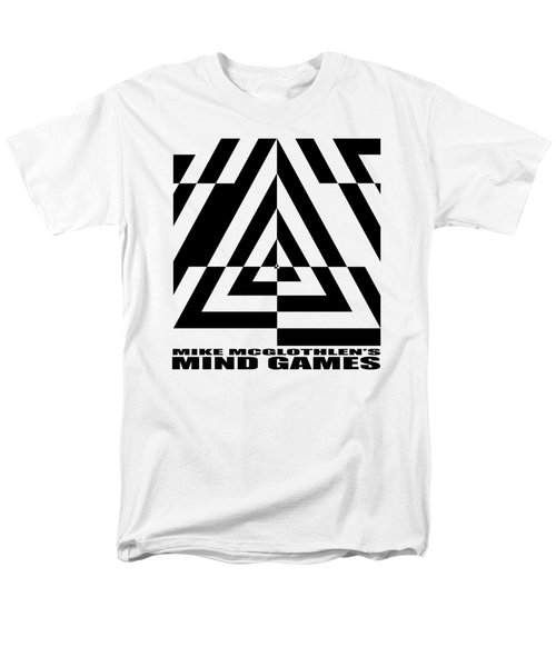 Men's T-Shirt  (Regular Fit) featuring the drawing Mind Games  21se by Mike McGlothlen