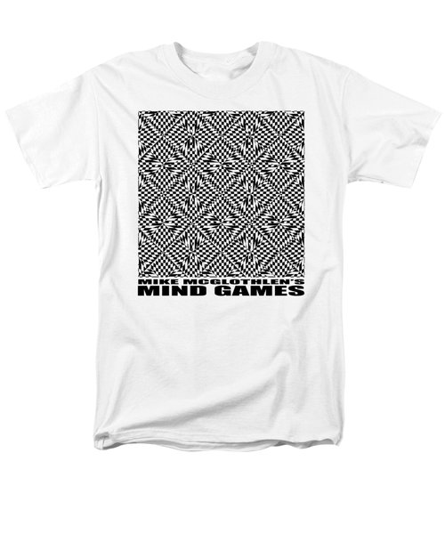 Men's T-Shirt  (Regular Fit) featuring the drawing Mind Games 61se 2 by Mike McGlothlen