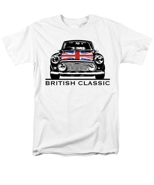 Mini British Classic Men's T-Shirt  (Regular Fit) by Thomas M Pikolin
