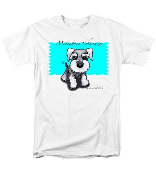 Miniature Schnauzer Men's T-Shirt  (Regular Fit) by Catia Cho
