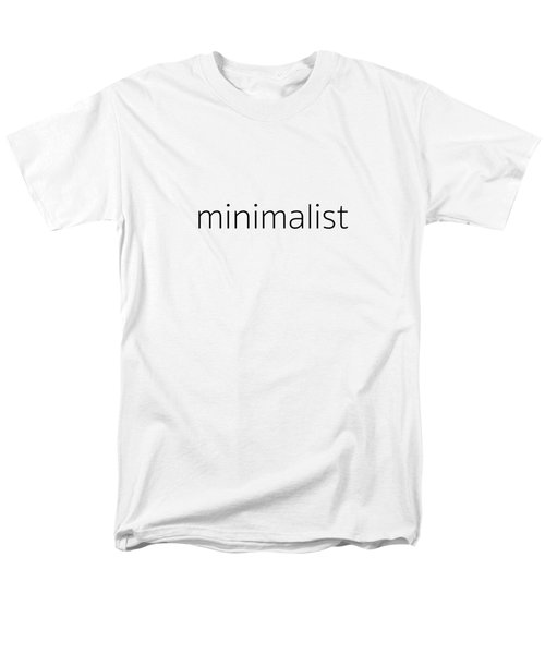 Minimalist Men's T-Shirt  (Regular Fit) by Bill Owen