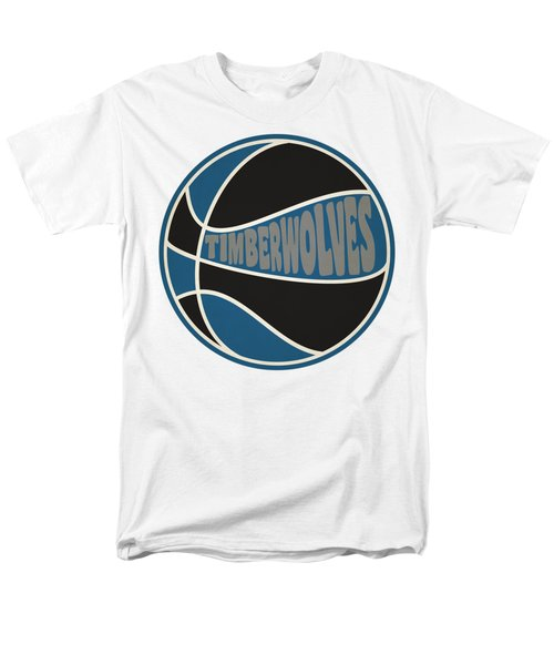 Minnesota Timberwolves Retro Shirt Men's T-Shirt  (Regular Fit) by Joe Hamilton
