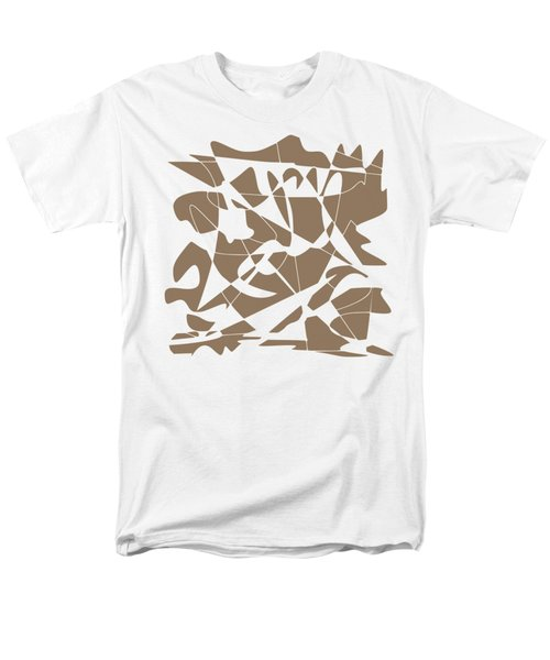 Missing Piece Men's T-Shirt  (Regular Fit) by Keshava Shukla