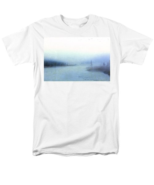 Misty Morning Men's T-Shirt  (Regular Fit) by Catherine Alfidi