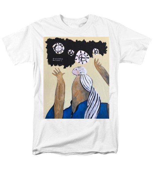 Mmxvii The Ascension No 4 Men's T-Shirt  (Regular Fit)