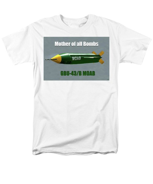 Men's T-Shirt  (Regular Fit) featuring the painting Moab Gbu-43/b by David Lee Thompson
