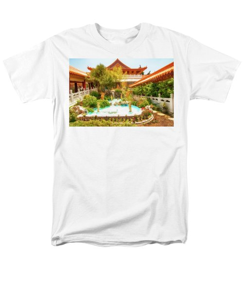 Men's T-Shirt  (Regular Fit) featuring the photograph Monastery by Joseph Hollingsworth
