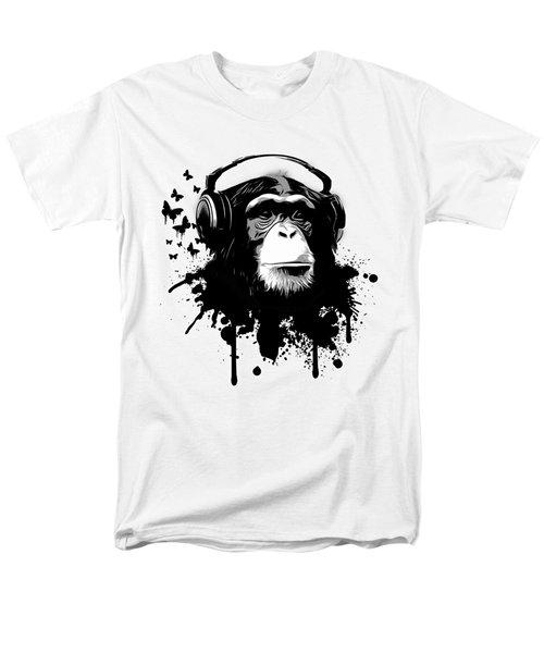 Monkey Business Men's T-Shirt  (Regular Fit)
