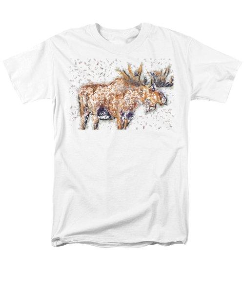Moose-sticks Men's T-Shirt  (Regular Fit)