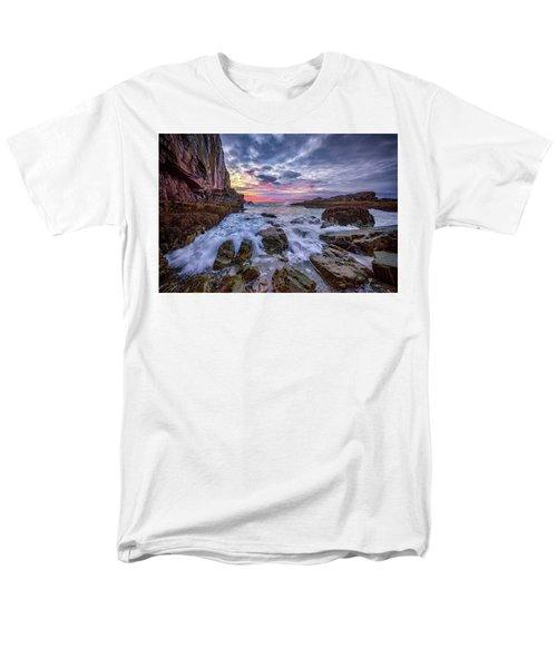 Morning At Bald Head Cliff Men's T-Shirt  (Regular Fit) by Rick Berk