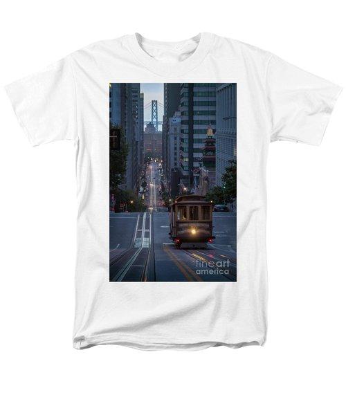 Morning Commute Men's T-Shirt  (Regular Fit) by JR Photography