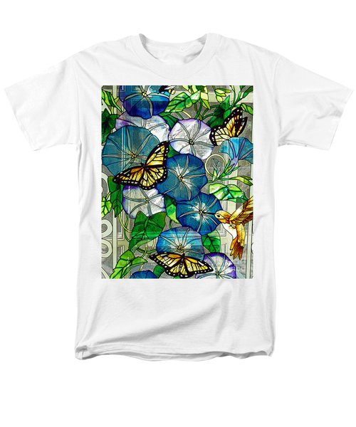 Morning Glory Men's T-Shirt  (Regular Fit) by Diane E Berry