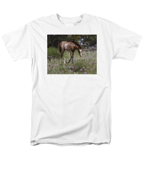 Morning Glory Men's T-Shirt  (Regular Fit) by Elizabeth Eldridge