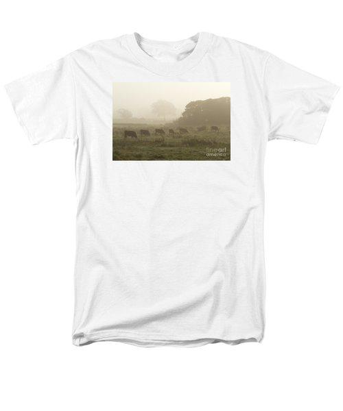 Morning Graze Men's T-Shirt  (Regular Fit) by Gary Bridger
