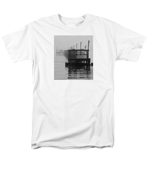 Men's T-Shirt  (Regular Fit) featuring the photograph Morning Meeting by Joe Jake Pratt