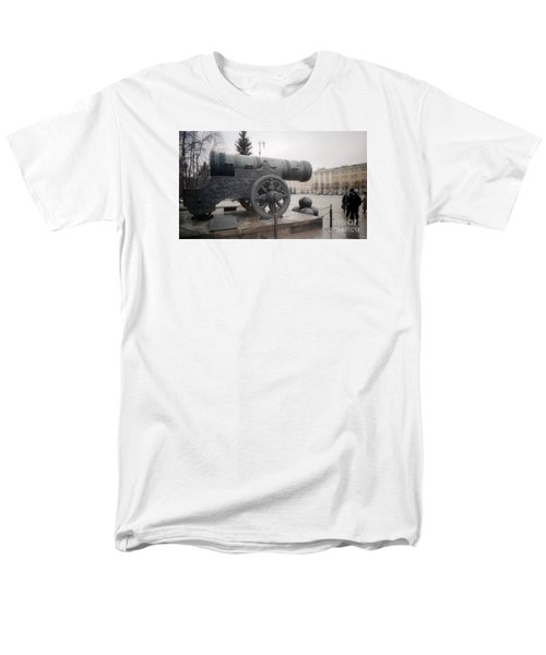 Moscow Cannon Relic Men's T-Shirt  (Regular Fit) by Ted Pollard
