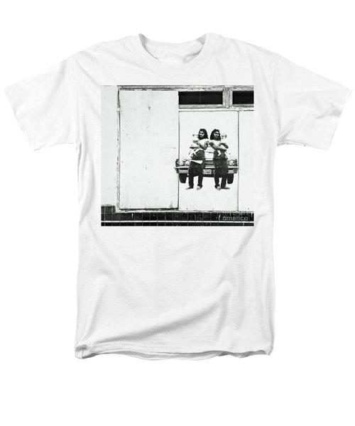 Double Trouble Men's T-Shirt  (Regular Fit) by Joe Jake Pratt