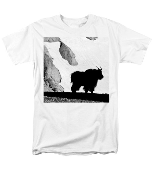 Mountain Goat Shadow Men's T-Shirt  (Regular Fit) by Colleen Coccia