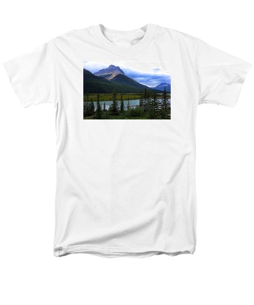 Mountain High Men's T-Shirt  (Regular Fit) by Heather Vopni