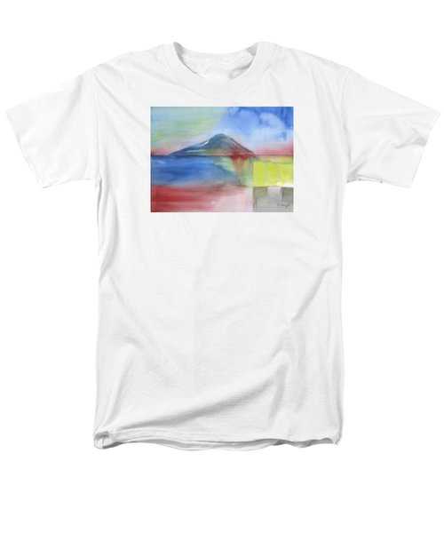 Men's T-Shirt  (Regular Fit) featuring the painting Just Before The Rain by Frank Bright
