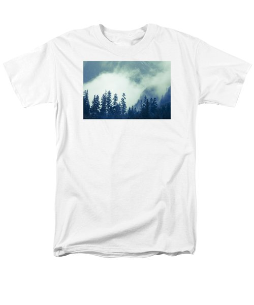 Mountains And Fog Men's T-Shirt  (Regular Fit) by Michele Cornelius