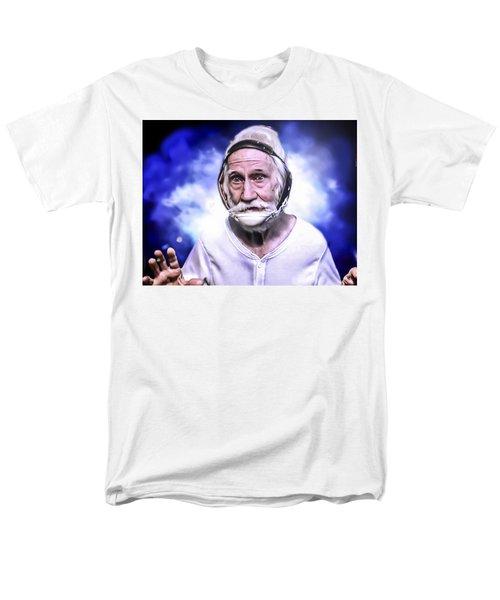 Mr. Joseph Blue Pulaski Men's T-Shirt  (Regular Fit) by Nicholas  Grunas