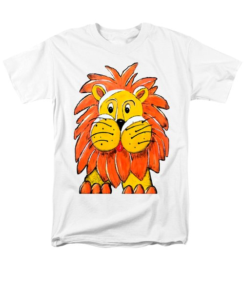 Mr. Lion Men's T-Shirt  (Regular Fit) by Tami Dalton