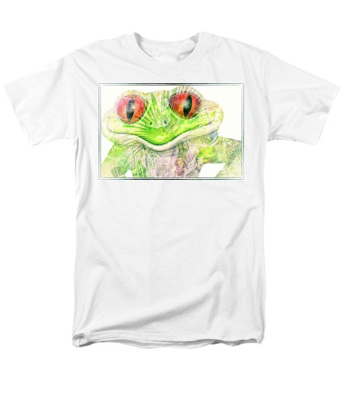Mr Ribbit Men's T-Shirt  (Regular Fit) by Pamela Williams