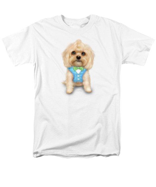 Mr.toby Waffles Men's T-Shirt  (Regular Fit) by Catia Cho